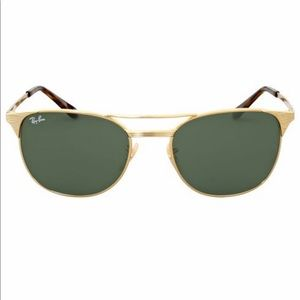 Ray Ban Gold Wayfarer Sunglasses